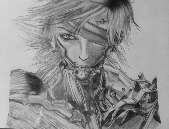 Bad Ass Raiden por Aza Palacios